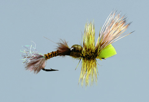 Green Drake Epoxyback Emerger