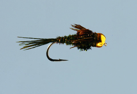 BH Olive Pheasant Tail