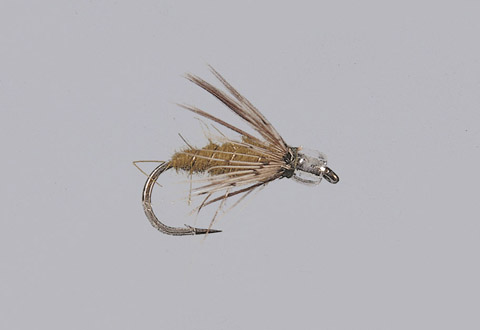 Rainy's Olive Air-Head Soft Hackle