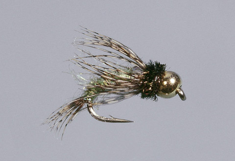 Beadhead Caddis Green Bird's Nest
