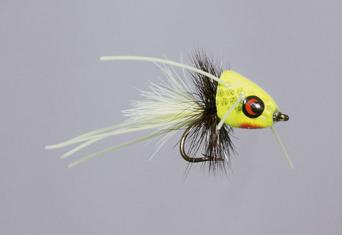 Rainy's Chartreuse CB Micro-Me Diving Frog - FM