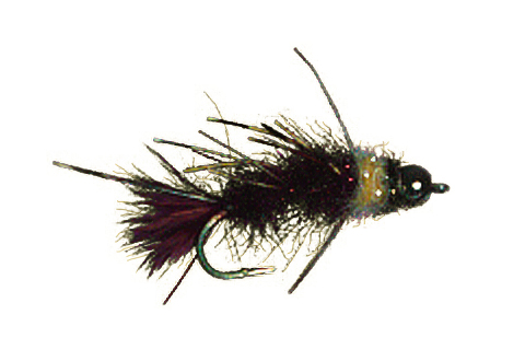 Bill's Dark Brown Stick Caddis