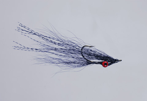 Clouser's Black Deep Minnow