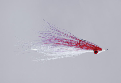Clouser's Red/White Deep Minnow