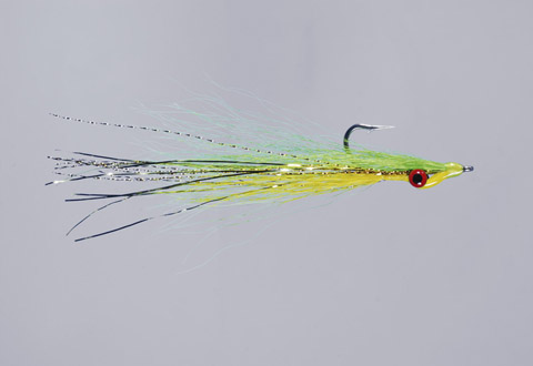 Clouser's Chart/Yellow Deep Minnow