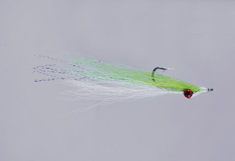 Clouser's Chart/White Deep Minnow