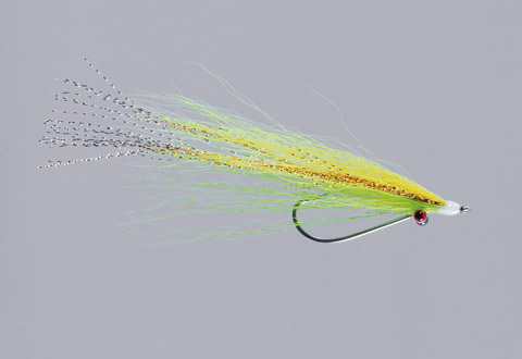 Clouser's Chart/Yellow Bendback Clouser