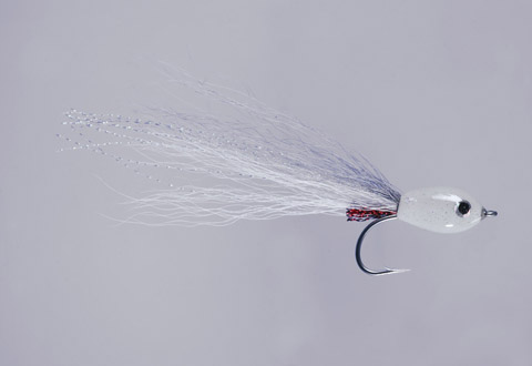 Clouser's Gray/White Floating Minnow - FM