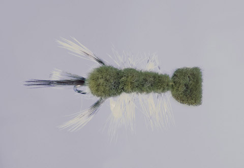 Clouser's Olive/Green Crayfish