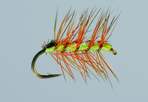 Ed's Crackleback - Lime Green