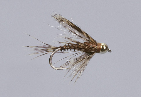 Galloup's BH BWO Sunk Spinner