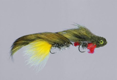 Galloup's Olive Articulated Monkey - A/TH