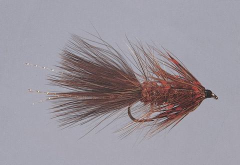 Ingersoll's Brown/Orange S.T.S. Series Bugger -WTD