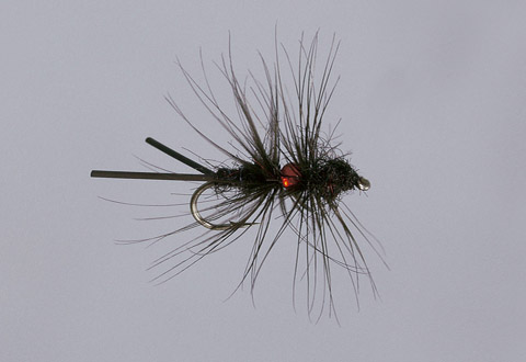 Haslam's RL Red Bead Soft Hackle Spider