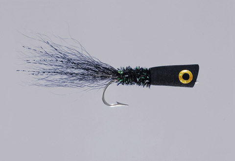 Lefty's Black Bass/In-Shore Popping Bug - FM