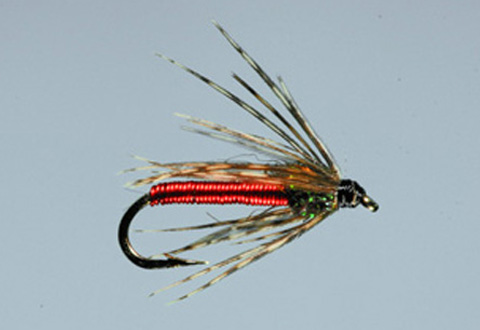 Dally's Tailwater Soft Hackle - Red