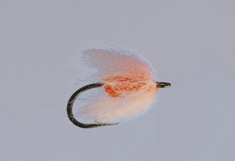 Ted's Sockeye/Orange Sparkle Nuke Egg