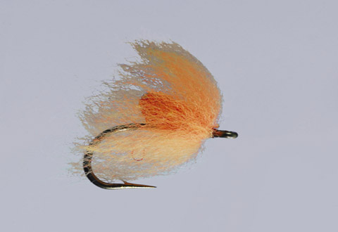 Ted's Steelhead/Orange Sparkle Nuke Egg