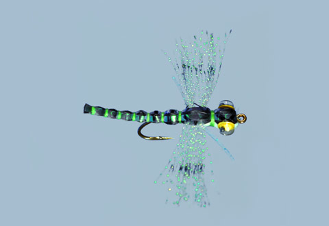Whitlock's Crystal Spent Adult Dragonfly Blue