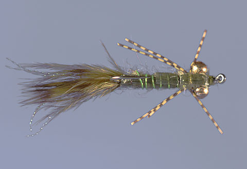 Whitlock's Damsel Nymph Olive